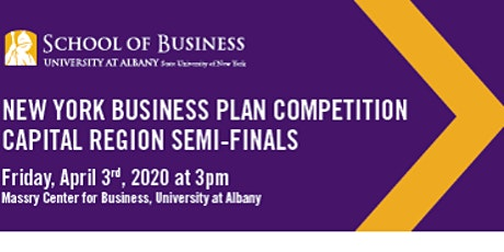 The 11th Annual Capital Region Business Plan Competition tickets