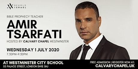 AMIR TSARFATI @ CALVARY CHAPEL WESTMINSTER tickets