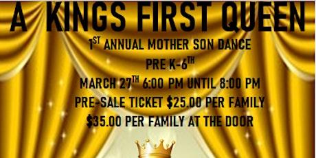 A Kings First Queen tickets