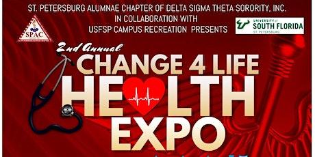 Change 4 Life Health Expo tickets