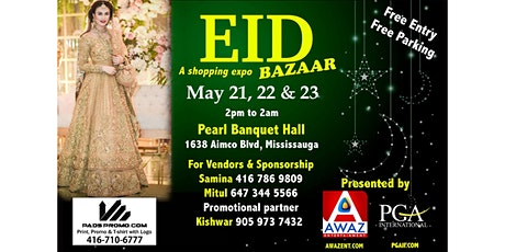 Eid Bazaar tickets