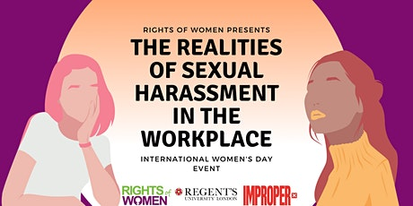 IWD Event: The Realities of Sexual Harassment in the Workplace tickets