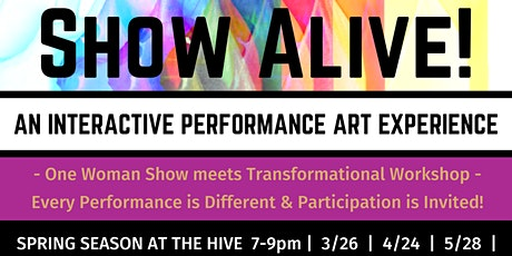 SHOW ALIVE! tickets