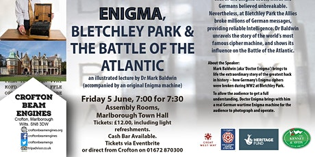 The Codebreakers: Enigma, Bletchley Park & The Battle of the Atlantic tickets