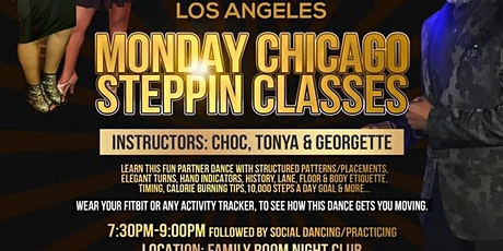 TCF-Los Angeles-Monday-Chicago Steppin Class tickets