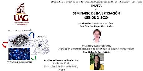 SEMINARIO DE INVESTIGACIÓN DCYT SESION 2 2020 boletos