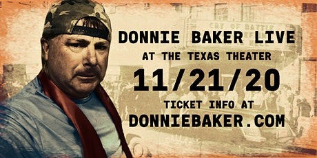 Donnie Baker LIVE in Dallas tickets