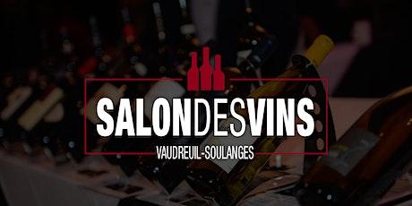 Le Salon des vins de Vaudreuil-Soulanges 2020 billets