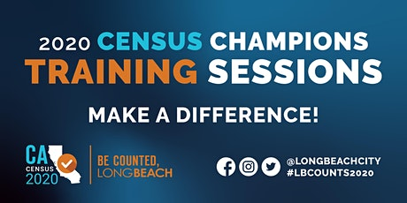 Long Beach 2020 Census Champions Training: Michelle Obama Library tickets
