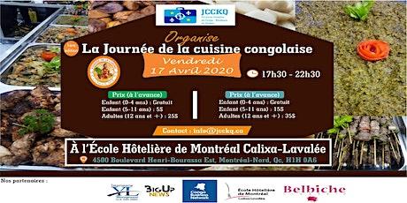 La Journée de la cuisine congolaise billets