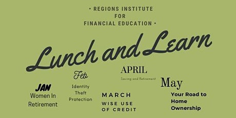 April Lunch 'n Learn tickets