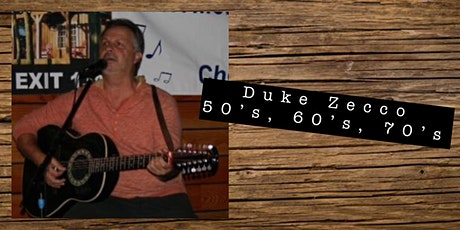 Live Music by Duke Zecco tickets