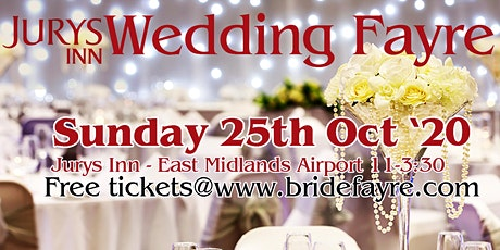 Jurys Inn autumn wedding fayre at EMA tickets