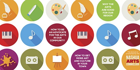 Nashua Arts Commission - How to Advocate for the Arts in Your Community tickets