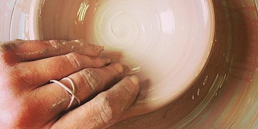 Pottery Wheel Focus Class for Beginner/Intermediate - 5 Week Session - July