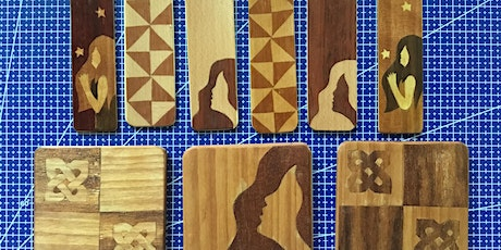 Introduction to Marquetry: Make your own bookmark or coaster  tickets