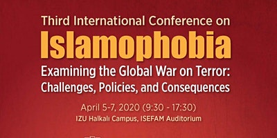 3rd Intl Conference on Islamophobia: Examining th