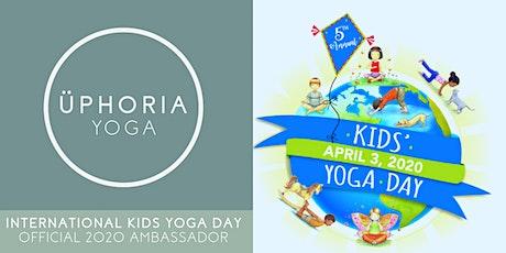 Celebrate International Kids' Yoga Day at Üphoria Yoga (Free Event) tickets