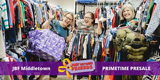 Pimetime Presale pass |April 1st | JBF Middletown Spring 2020 | Mega Children's Sale event