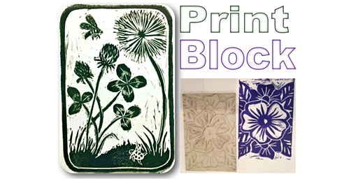 Adult Paint Party: Print Block