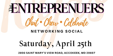 POPISTRY, LLC's 10th Year Anniversary and The Entrepreneurs Chat, Chew & Celebrate Networking Social tickets