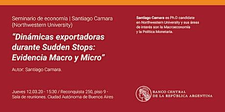 Seminario de Economía | Santiago Camara (Northwestern University) entradas