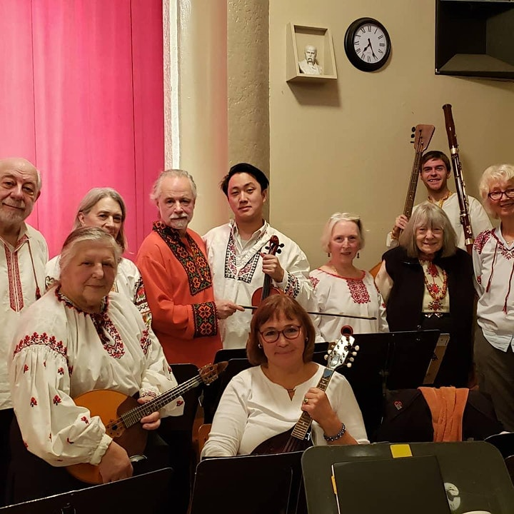 UKRAINIAN FOLK MUSIC evenings at the AUUC Hall image