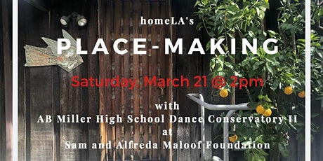 Postponed // Place-Making //  homeLA's Education Program // Free Event tickets