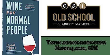 Wine For Normal People - Book Talk & Wine Tasting  *POSTPONED UFN tickets