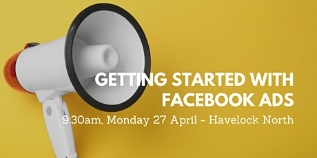 WORKSHOP: Getting Started with Facebook Ads - POSTPONED (New Date TBC) tickets