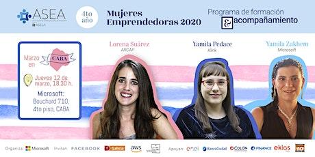 Mujeres Emprendedoras 2020 entradas