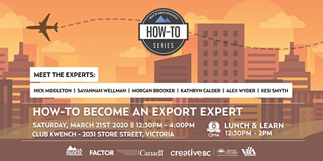 How-To Become An Export Expert - Panel and Lunch & Learn tickets