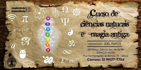 Curso de Ciências Naturais e Magia Antiga ingressos