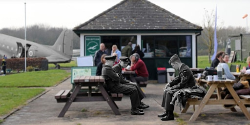 Volunteer Coffee Morning at Metheringham Airfield Visitor Centre.