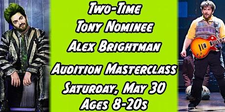 Alex Brightman's Audition Masterclass (BEETLEJUICE, SCHOOL OF ROCK) tickets
