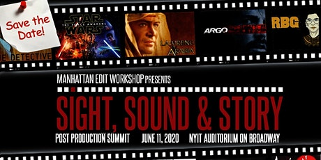 Sight, Sound & Story 2020: Post-Production Summit tickets