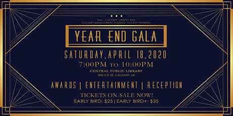 Calgary Campus Year End Gala tickets