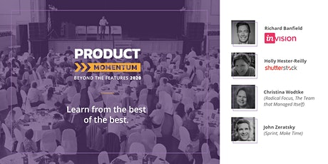 Product Momentum: Beyond the Features 2020 tickets