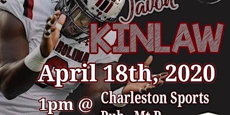 Javon Kinlaw Meet and Greet in Charleston tickets