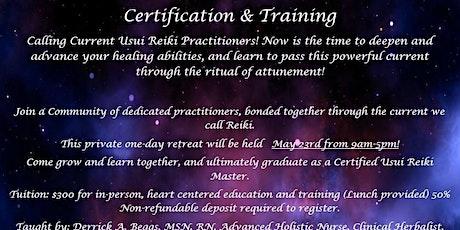 Usui Reiki Master Retreat! (Training & Certification) tickets