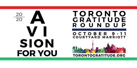 Toronto Gratitude Round Up 2020: A Vision for You tickets