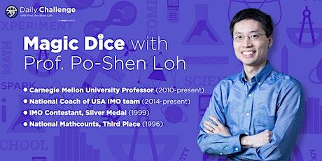 Magic Dice by Prof. Po-Shen Loh | Box Hill, VIC, AU | Mar 7th 2020 tickets