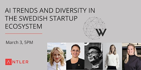 AI Trends and Diversity in the Swedish Startup Ecosystem tickets