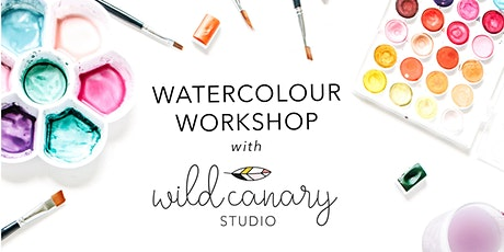 Watercolour Workshop with Wild Canary tickets