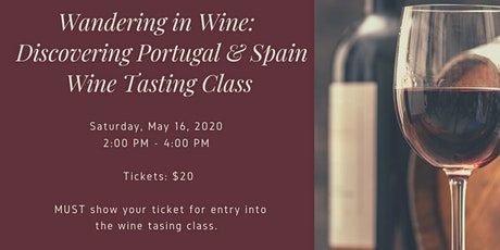 Wander in Wine - Discovering Portugal and Spain tickets