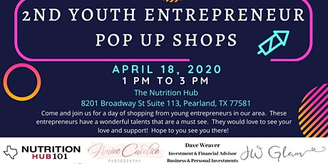 2nd Youth Entrepreneur Pop Up Shop tickets