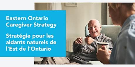 Stratégie pour les aidants naturels (Plantagenet) / Caregiver Strategy tickets