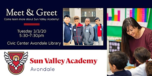 Family Night Meet and Greet- Sun Valley Academy