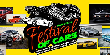 Festival of Cars San Diego 2020! tickets