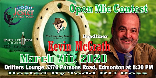 2020 Jester of the Year Comedy - with Headliner Kevin McGrath